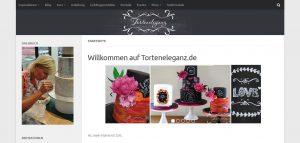 Startseite www.torteneleganz.de