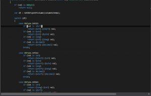 SQLite Converter Column Typ Erkennung Switch and Case