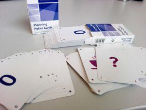 Planning Poker Karten